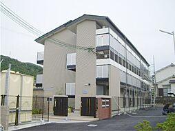 京都府京都市伏見区日野岡西町の賃貸アパートの外観