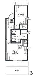 サニーヒル(新栄町)[1階]の間取り