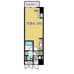 愛知県名古屋市中川区運河通1丁目の賃貸マンションの間取り