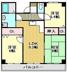 Vスペース2[3階]の間取り