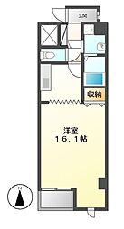 グランシャリオ大矢[4階]の間取り
