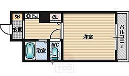 ハイムタケダT−8[9階]の間取り