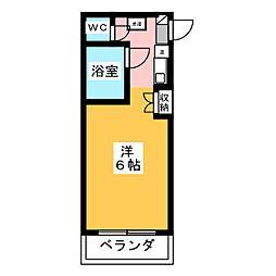 メトロポリタン37[1階]の間取り