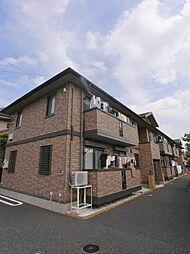 埼玉県ふじみ野市谷田1丁目の賃貸アパートの外観