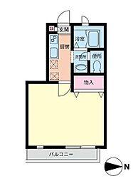 ウインドヒル都筑[2階]の間取り