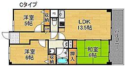 サワ—・ドゥー住之江公園[7階]の間取り