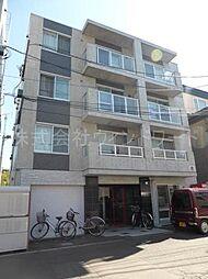 北海道札幌市中央区北四条西27丁目の賃貸マンションの外観