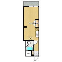 チェリーハウス[302号室]の間取り