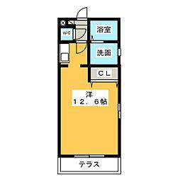 エクセル勝川[1階]の間取り