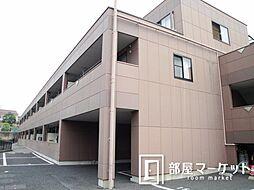 愛知県豊田市花園町塩倉の賃貸アパートの外観