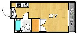エルモハイツ[1階]の間取り