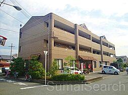 アビスタ北花田[3階]の外観