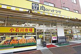 肉のハナマサ小石川店 414m