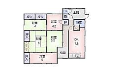 [一戸建] 三重県松阪市大平尾町 の賃貸【三重県 / 松阪市】の間取り