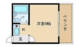 兵庫県神戸市垂水区川原3丁目の賃貸マンションの間取り