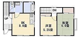 [テラスハウス] 神奈川県逗子市久木4丁目 の賃貸【神奈川県 / 逗子市】の間取り