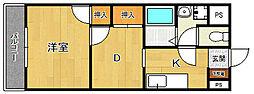 プレアール宝塚泉町[302号室]の間取り