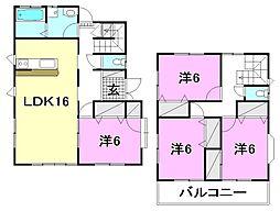 [一戸建] 愛媛県松山市余戸南3丁目 の賃貸【/】の間取り