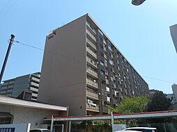 八戸ノ里グランドマンションA棟[10階]の外観