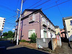 埼玉県所沢市喜多町の賃貸アパートの外観