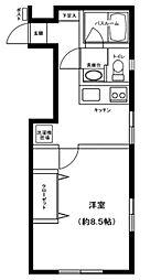 アズーロ戸田公園[1階]の間取り