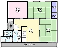 レデント和泉[4階]の間取り