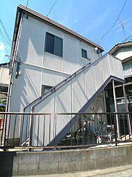 埼玉県富士見市水谷東3丁目の賃貸アパートの外観