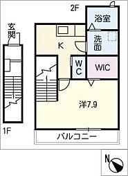 仮)笠井様邸[2階]の間取り