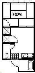 松崎アパート[A103号室]の間取り
