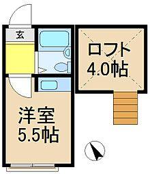 プラザドゥパナーシB棟[2階]の間取り