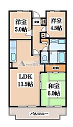 M TAKAI[2階]の間取り