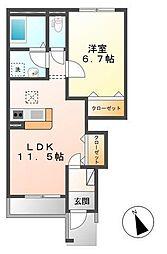 RYUKI[1階]の間取り