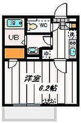埼玉県さいたま市北区東大成町の賃貸マンションの間取り