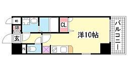 エスリード神戸海岸通[601号室]の間取り