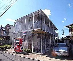 京都府京都市左京区一乗寺花ノ木町の賃貸アパートの外観