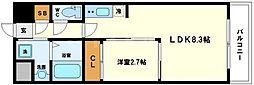 グランドステージ十三[6階]の間取り