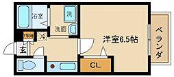 セジュールZIROZA[2階]の間取り