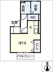 仮)D−room今池[2階]の間取り