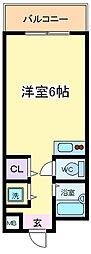 ふぁみーゆアビコ3[2階]の間取り