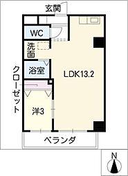 Y's STELLA415[4階]の間取り