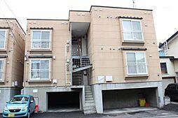 北海道札幌市東区北四十七条東2丁目の賃貸アパートの外観