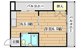 マプログレイスII[2階]の間取り