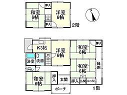 一戸建て(栗東駅から徒歩24分、96.05m²、1,980万円)