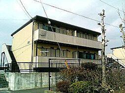 静岡県富士宮市万野原新田の賃貸アパートの外観