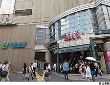 恵比寿駅(現地まで720m)