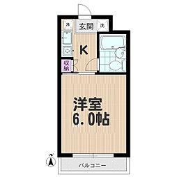 セントヒルズ武蔵浦和[3階]の間取り