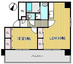 コンヤスビル[7階]の間取り