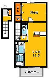 アーバンライフコート[2階]の間取り