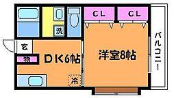 カーサムラカミ[2階]の間取り