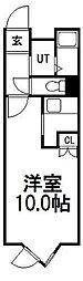 ウェイヴ23[1階]の間取り
